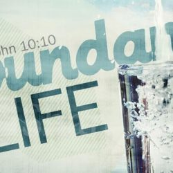 Abundant Life through sanctification